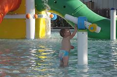 39. Изучает водомет - который (опять продуманно) нельзя направить вовне бассейна