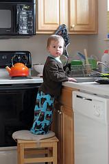 53. Хулиганит на кухне