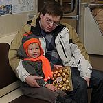 7. Бориса едет в гости к прабабушке - на метро