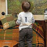 8. Ребенок интересуется фотообоями