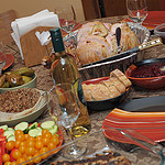 5. Thanksgiving-стол