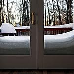 8. Снежные завалы - вид изнутри