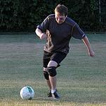 51. Папа играет в футбол