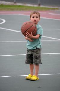 Немного баскетбола