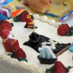 Тематический торт и тематические свечки